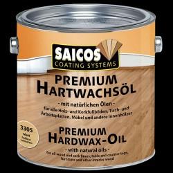 Saicos, Tvrdý voskový olej Premium, 2,5l