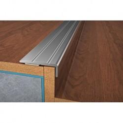 schodový profil š. 25x9 mm, PVC fólie